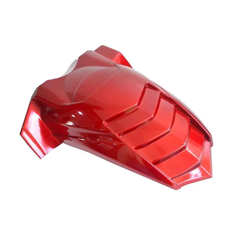 Raja Motor Model Landak Spakbor Kolong for Yamaha NMax - Merah Kilap [SBL3022-MerahKilap]