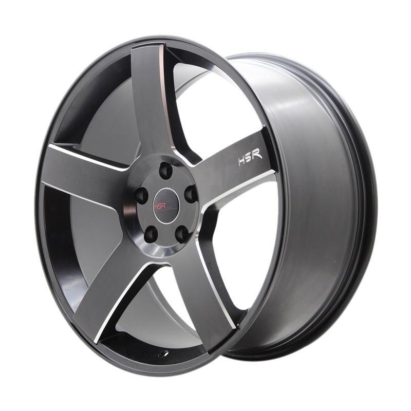 HSR Wheel KM690 1052 Ring 20X9 5X114,3 ET45 Semi Matte Black