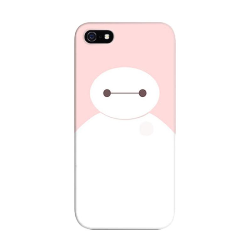 Indocustomcase Baymax 2 Custom Cover Hardcase Casing for Apple iPhone 5/5S/SE