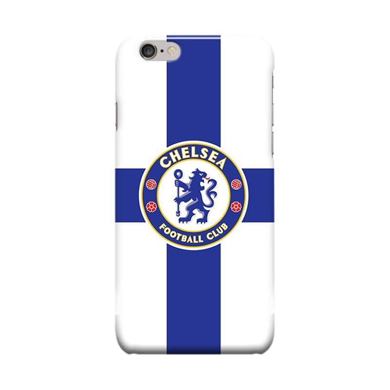 Indocustomcase Chelsea FC Logo CFC02 Cover Casing for iPhone 6 Plus or 6S Plus