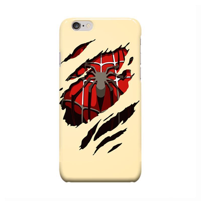 Indocustomcase Spiderman Cover Casing for Apple iPhone 6 Plus or 6S Plus