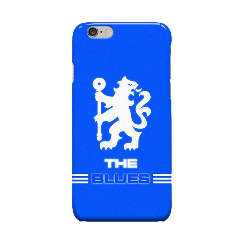 Indocustomcase Chelsea FC Logo CFC03 Cover Casing for iPhone 6 Plus or 6S Plus