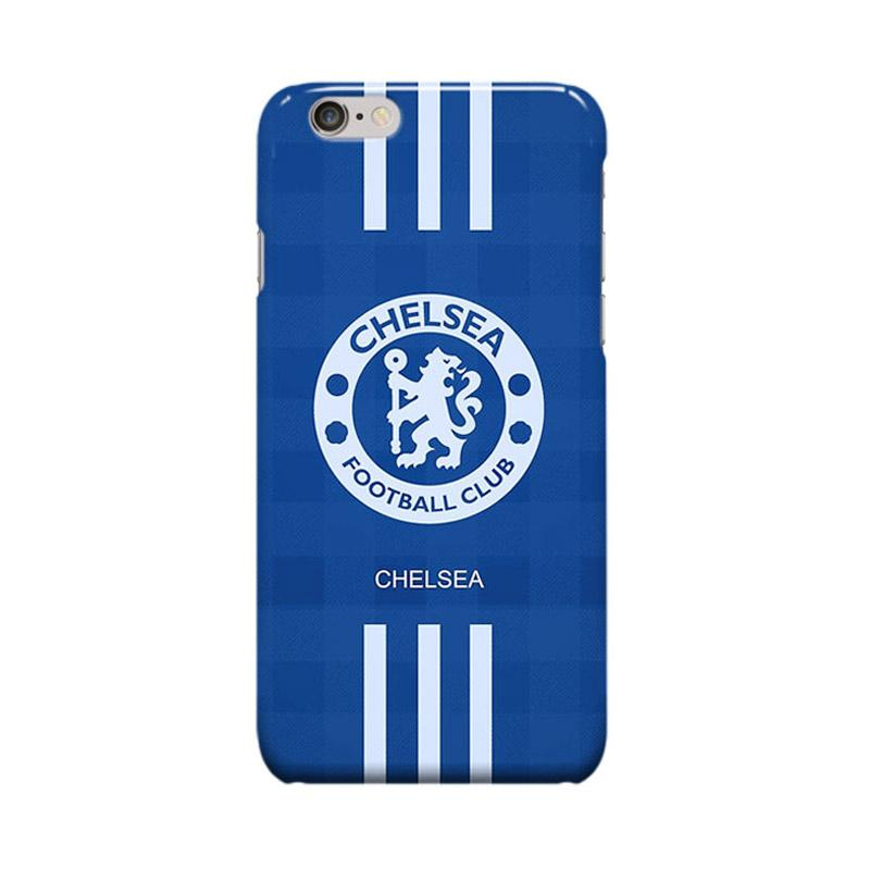 Indocustomcase Chelsea FC Logo CFC06 Cover Casing for iPhone 6 Plus or 6S Plus