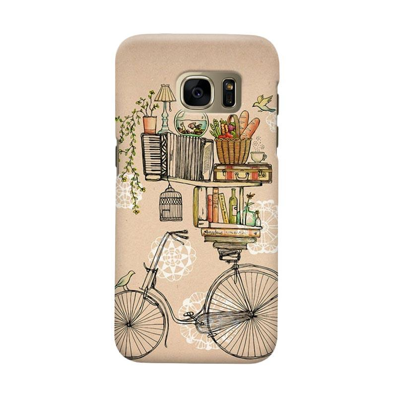 Indocustomcase Pleasant Balance Casing for Samsung Galaxy S6 Edge