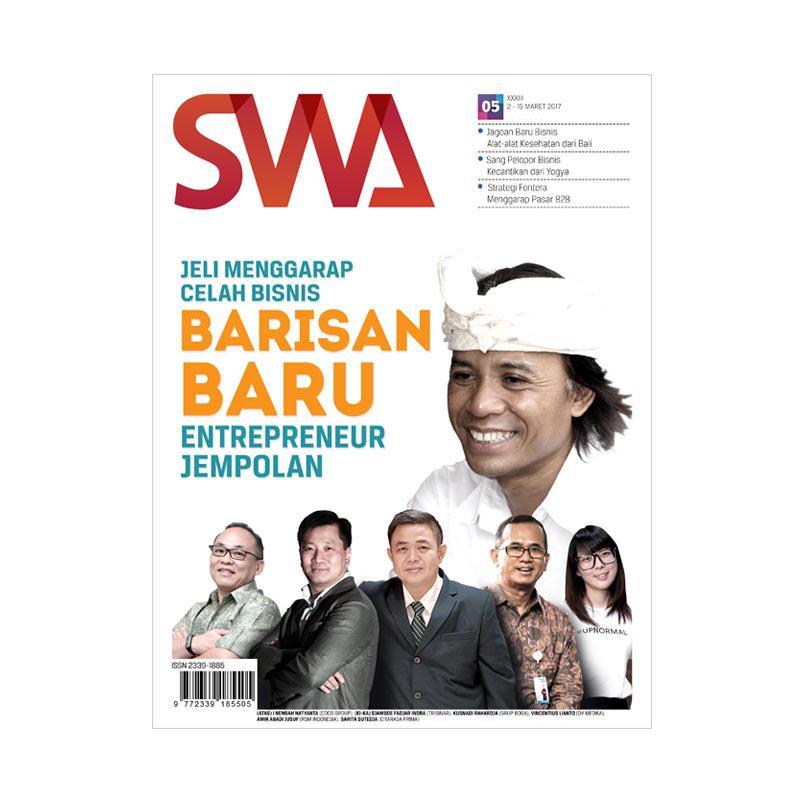 SWA Edisi 05-2017 Jeli Menggarap Celah Bisnis Barisan Baru Entrepreneur Jempolan Majalah [02-15 Maret 2017]