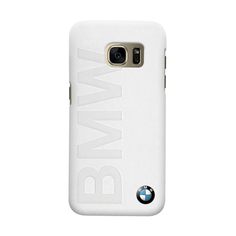 Indocustomcase BMW Logo White Casing for Samsung Galaxy S7 Edge