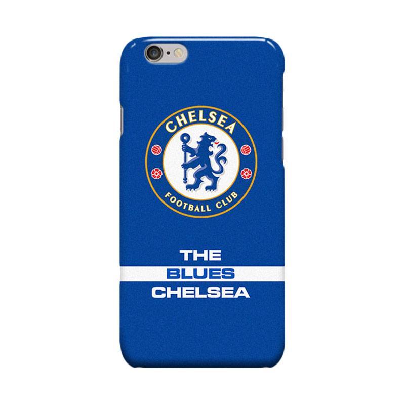 Indocustomcase Chelsea FC Logo CFC04 Cover Casing for iPhone 6 Plus or 6S Plus