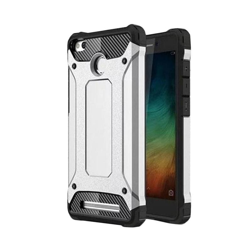 Spigen Transformers Iron Robot Hardcase Casing for Xiaomi Redmi Pro 5.5 inch - Silver