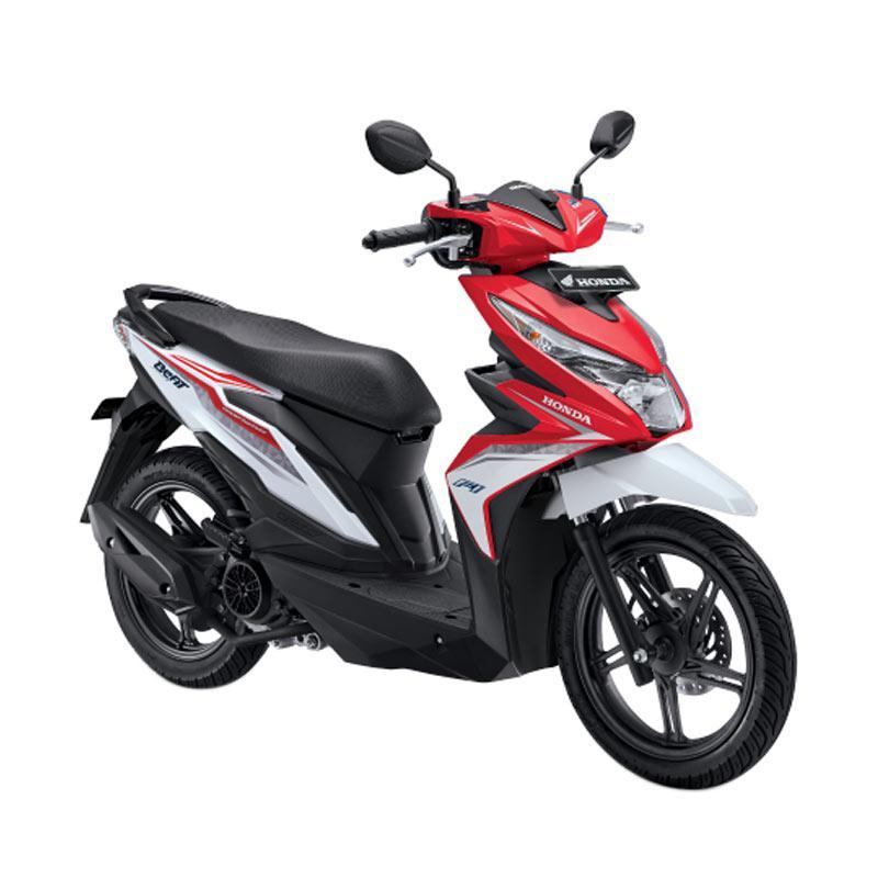 harga Honda All New BeAT eSP FI Sporty CBS ISS Sepeda Motor Matic - Soul Red White [OTR Bandung] Blibli.com