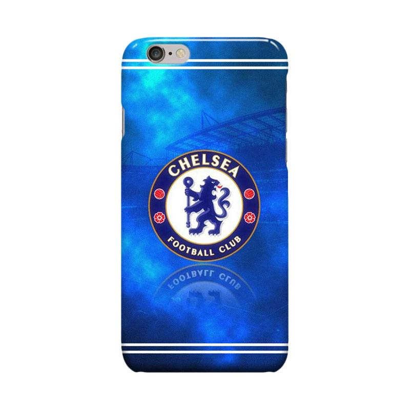 Indocustomcase Chelsea FC Logo CFC07 Casing for Apple iPhone 6 Plus or 6S Plus
