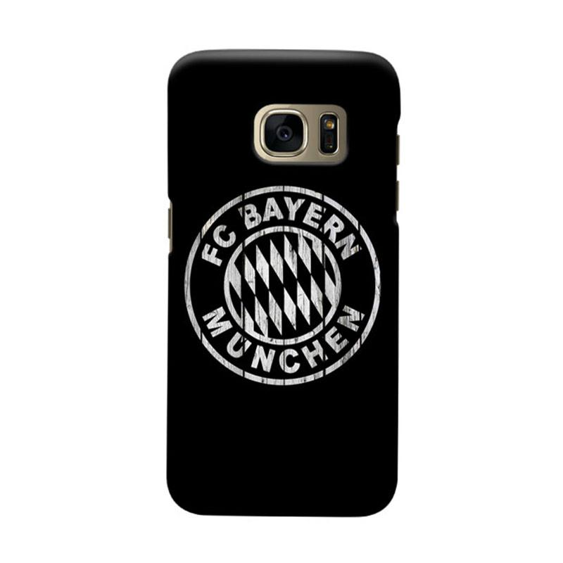 Indocustomcase Bayern Munchen FC BM01 Cover Casing for Samsung Galaxy S6