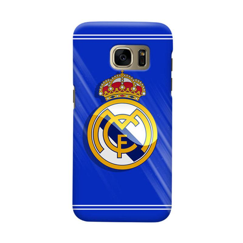 Indocustomcase Real Madrid FC RMA01 Casing for Samsung Galaxy S7 Edge
