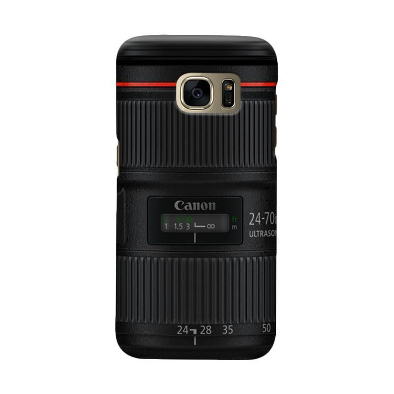 Indocustomcase Canon Tele Len Camera Cover Casing For Samsung Galaxy S6