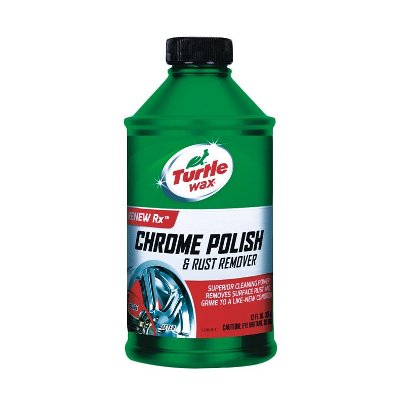 Turtlewax T-280 Chrome Polish & Rust Remover Liquid Cairan Pembersih Velg [355 mL]