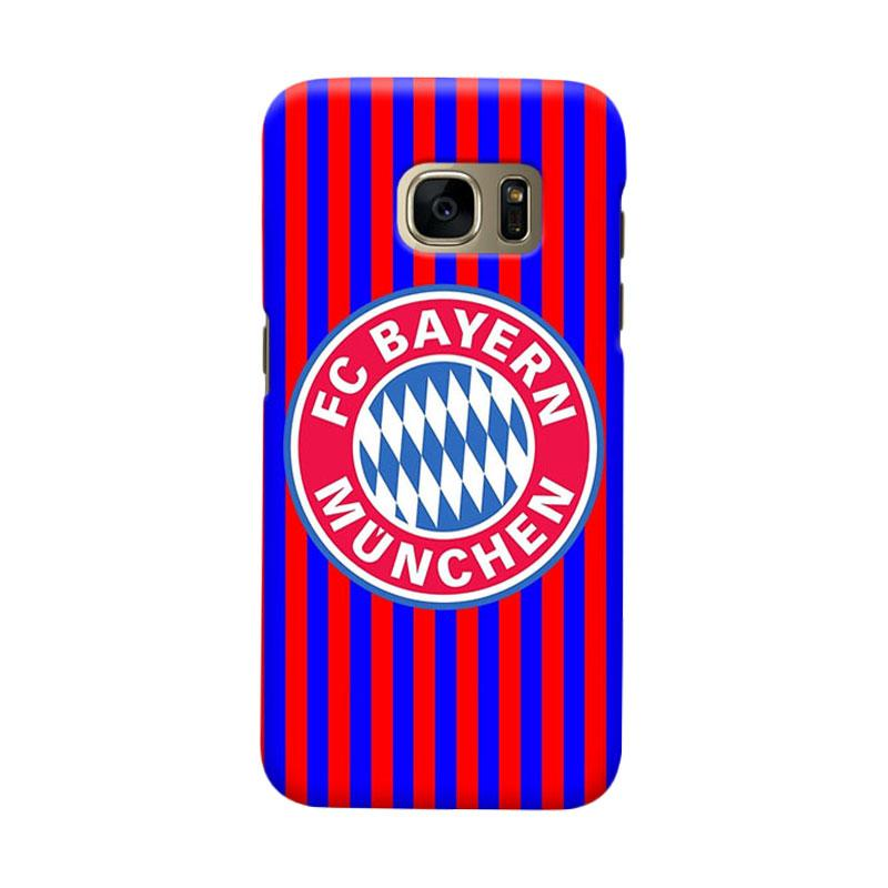 Indocustomcase Bayern Munchen FC BM03 Cover Casing for Samsung Galaxy S6