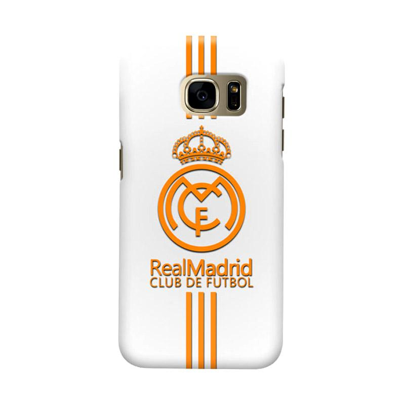 Indocustomcase Real Madrid FC RMA03 Cover Hardcase Casing for Samsung Galaxy S7 Edge