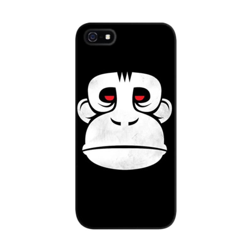 Indocustomcase Great The Ape 5S Custom Hardcase Casing for Apple iPhone 5/5S/SE