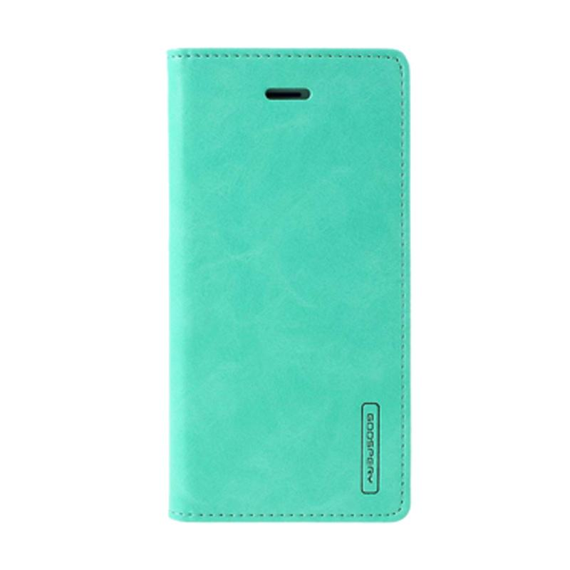 Mercury Goospery Bluemoon Flip Cover Casing for Samsung Galaxy J5 Prime - Mint