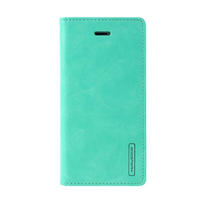 Mercury Goospery Bluemoon Flip Cover Casing for Samsung Galaxy J5 Prime - Mint