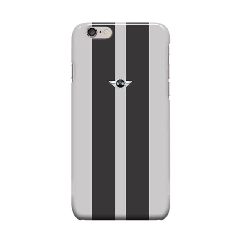 Indocustomcase Mini Cooper Grey Casing for Apple iPhone 6 Plus or 6S Plus