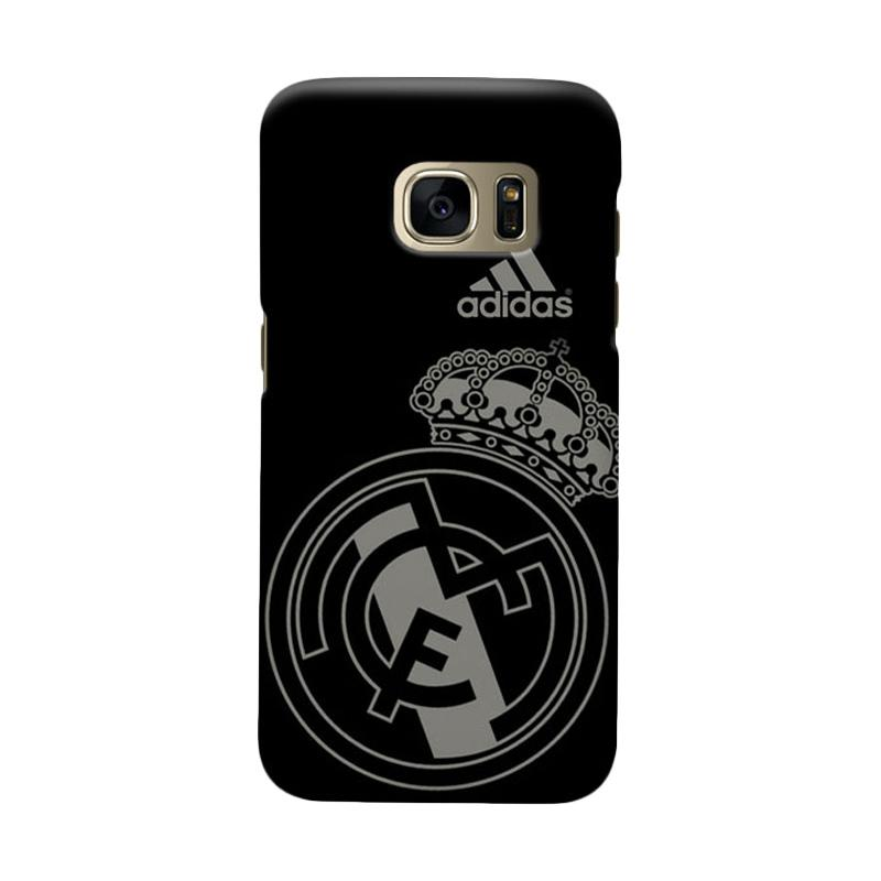 Indocustomcase Real Madrid FC RMA07 Casing for Samsung Galaxy S6 Edge