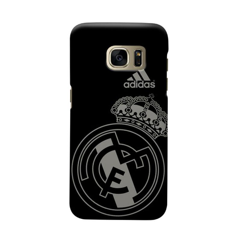Indocustomcase Real Madrid FC RMA07 Cover Hardcase Casing for Samsung Galaxy S7 Edge