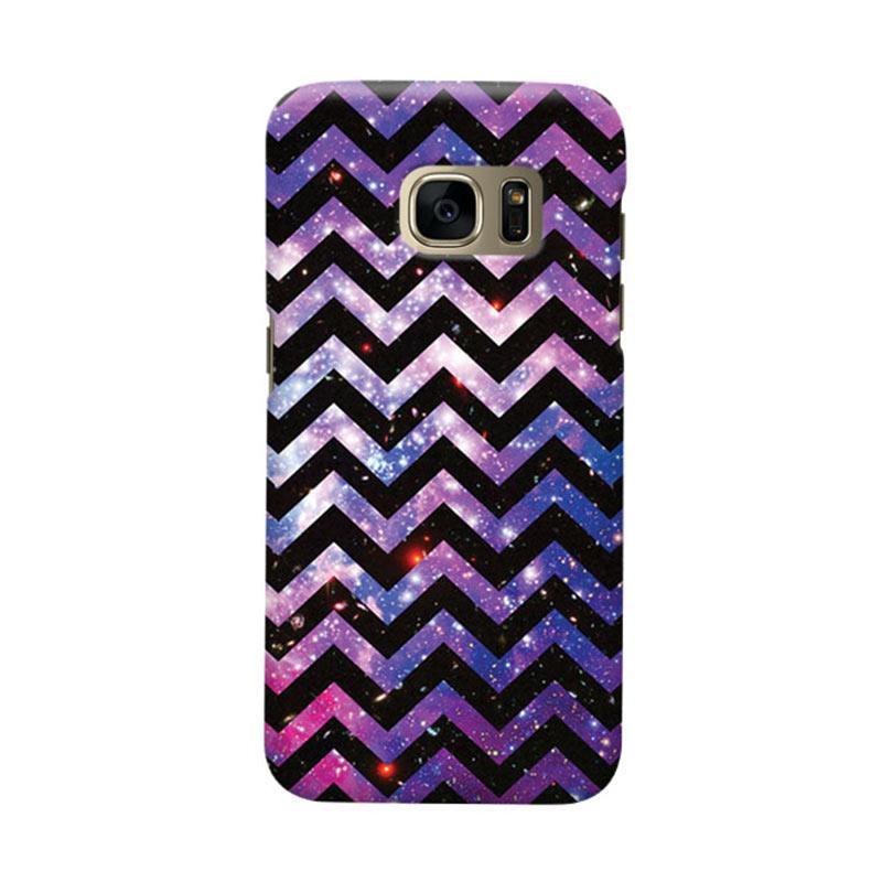 Indocustomcase Chevron Galaxy Cover Casing for Samsung Galaxy S7 Edge