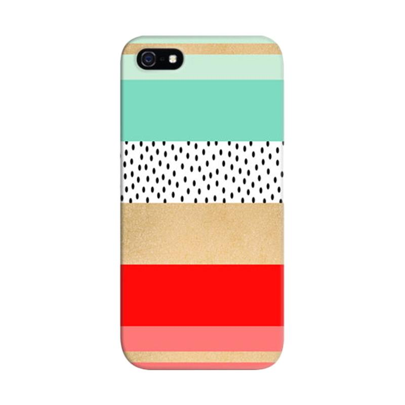 Indocustomcase Summer Fresh Custom Hardcase Casing for Apple iPhone 5/5S/SE