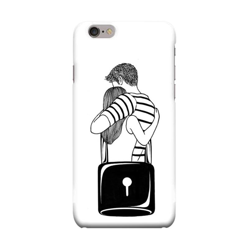 Indocustomcase Locked With You Cover Casing for iPhone 6 Plus or 6S Plus