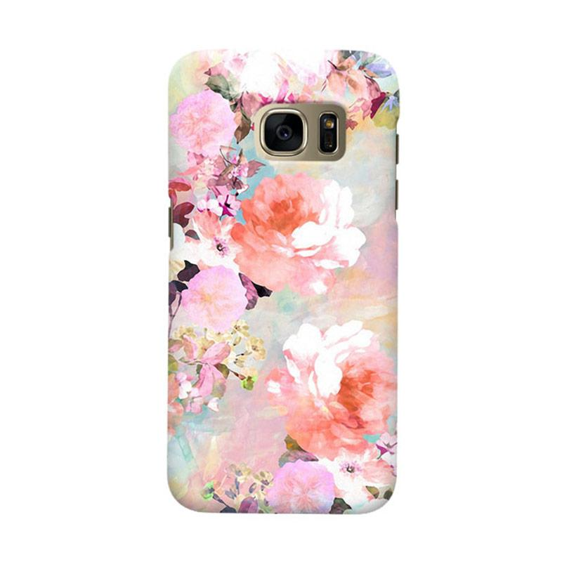 Indocustomcase Love Of A Flower Cover Casing for Samsung Galaxy S6 Edge