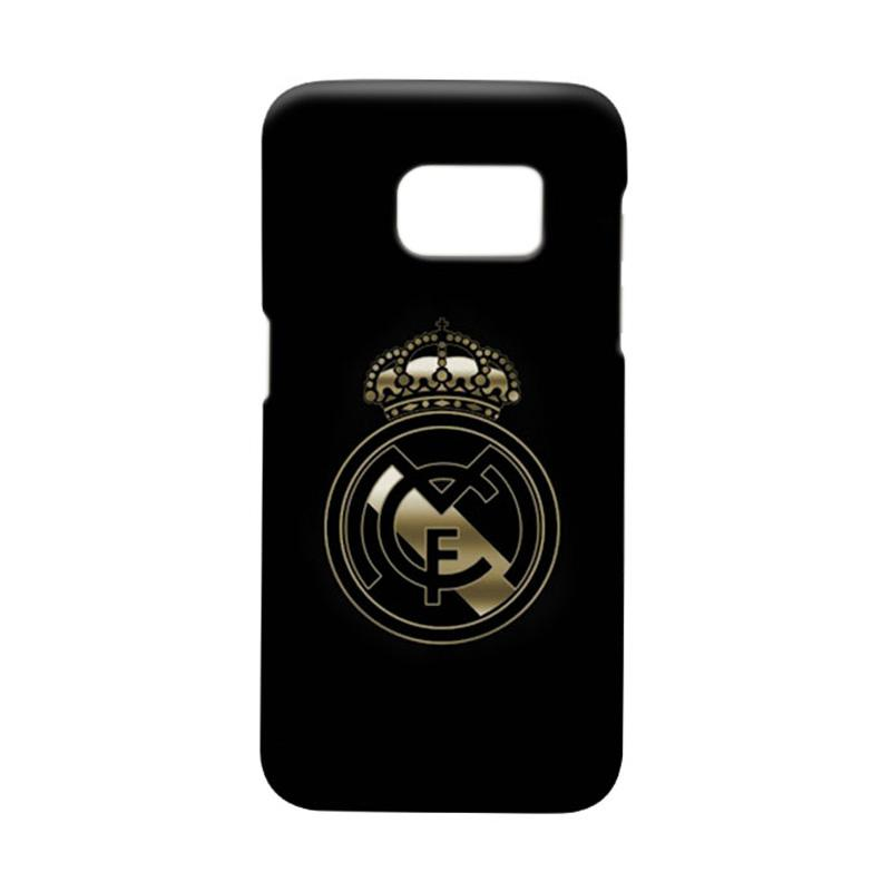 Indocustomcase Real Madrid FC RMA09 Casing For Samsung Galaxy S7 Edge