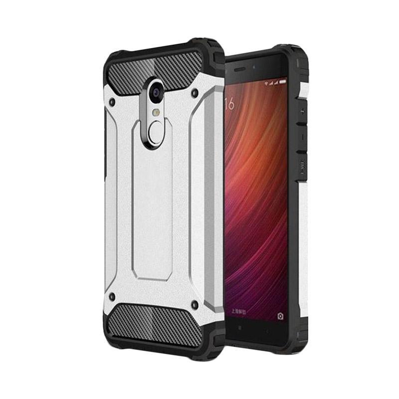 Spigen Transformers Iron Robot Hardcase Casing for Xiaomi Redmi Note 3 Pro - Silver