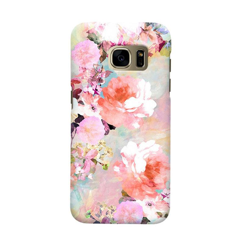 Indocustomcase Love Of A Flower Casing for Samsung Galaxy S7 Edge