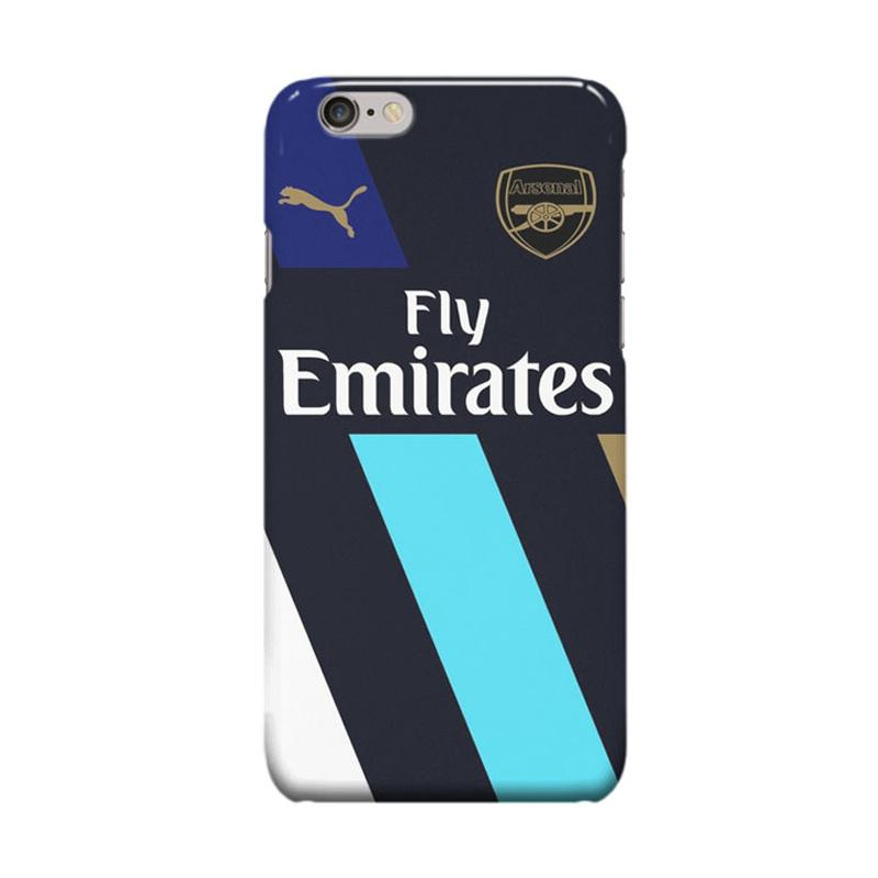 Indocustomcase Arsenal FC ID02 Cover Casing for Apple iPhone 6 Plus or 6S Plus