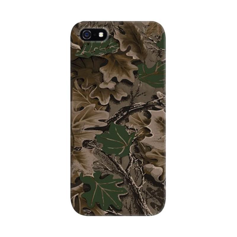 Indocustomcase Urban Camo Camouflage Custom Hardcase Casing for iPhone 5/5S/SE