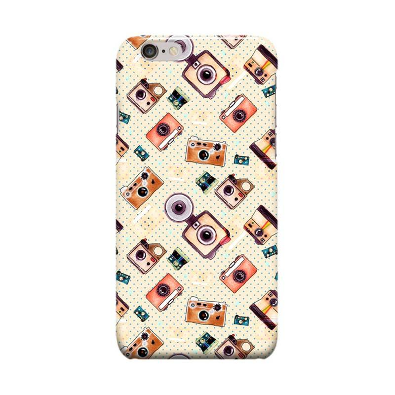 Indocustomcase Eye Of Camera Cover Casing for Apple Iphone 6 Plus or 6S Plus
