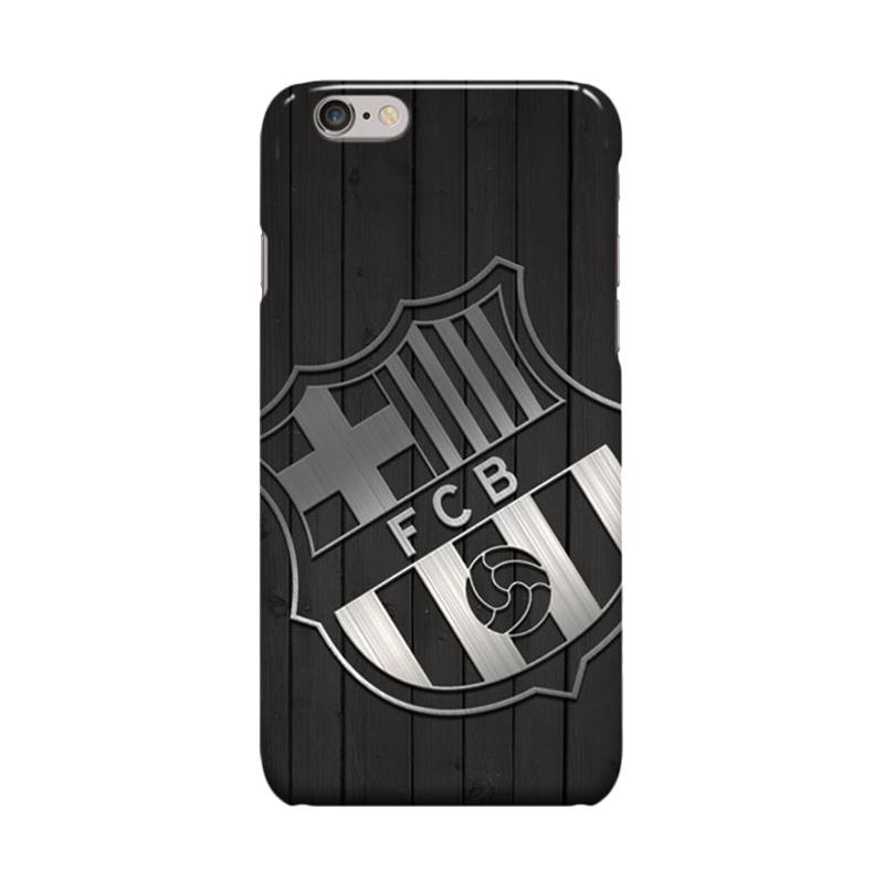 Indocustomcase FC Barcelona Logo FCB02 Casing for Apple iPhone 6 Plus or 6S Plus