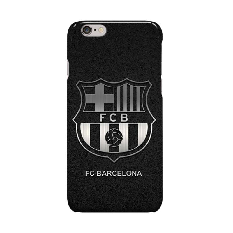 Indocustomcase FC Barcelona Logo FCB03 Casing for Apple iPhone 6 Plus or 6S Plus