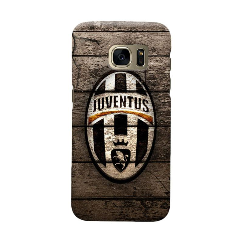 Indocustomcase Juventus FC JFC10 Cover Casing for Samsung Galaxy S6 Edge