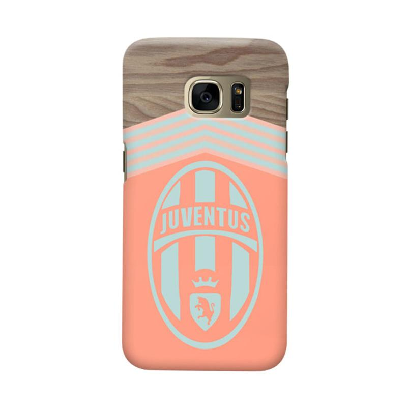 Indocustomcase Juventus FC JFC01 Cover Casing for Samsung Galaxy S7 Edge