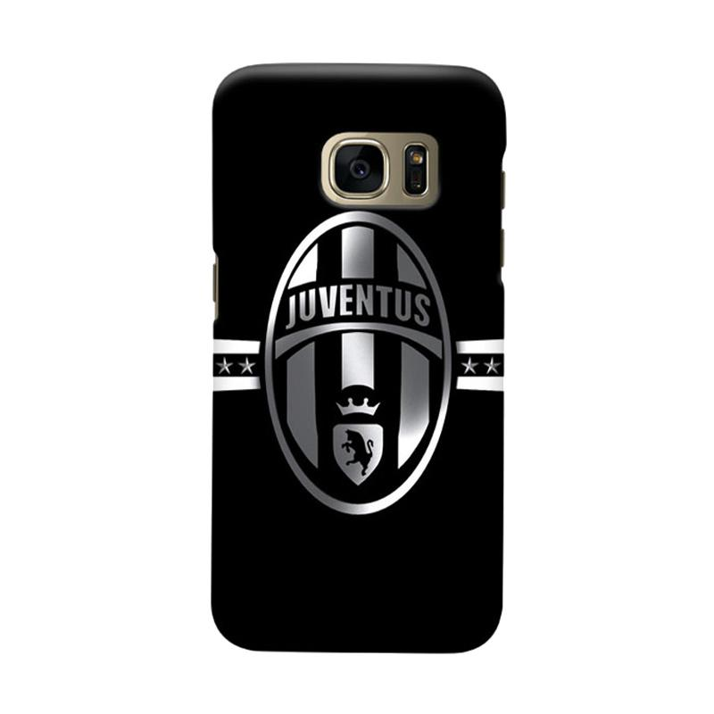 Indocustomcase Juventus FC JFC02 Cover Casing for Samsung Galaxy S6 Edge
