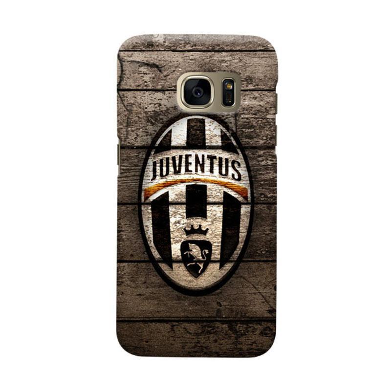 Indocustomcase Juventus FC JFC10 Cover Casing for Samsung Galaxy S7 Edge