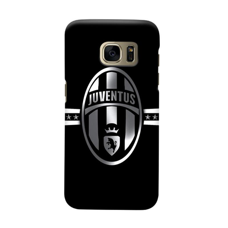 Indocustomcase Juventus FC JFC02 Cover Casing for Samsung Galaxy S7 Edge