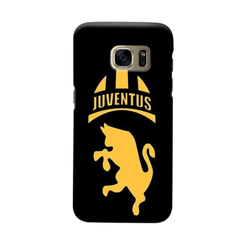 Indocustomcase Juventus FC JFC03 Casing for Samsung Galaxy S7 Edge