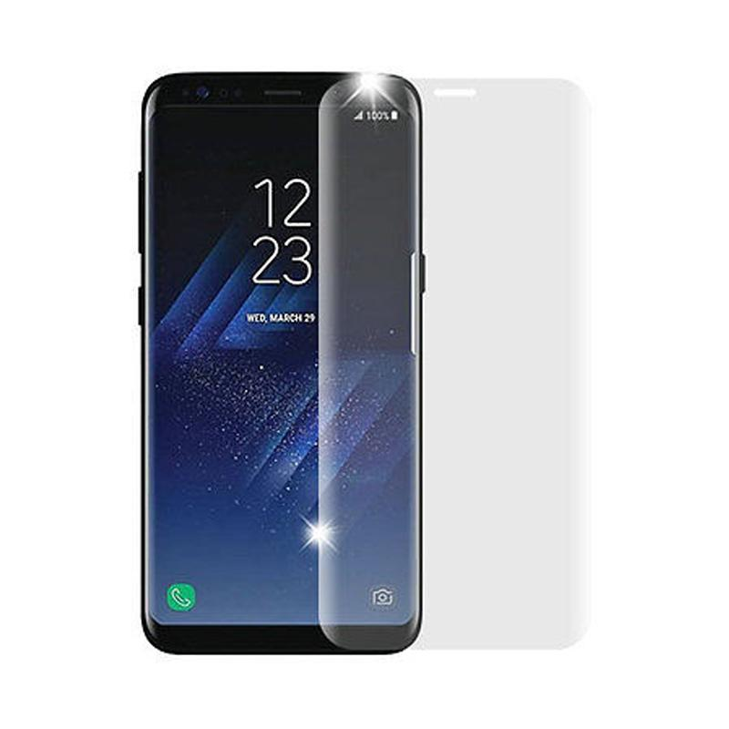 VR Tempered Glass Screen Protector for Samsung Galaxy S8 Plus or S8+ - Clear [Full Cover]