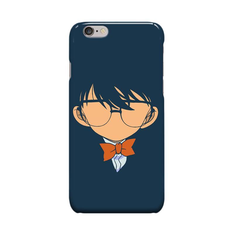 Indocustomcase Anime Conan Edogawa Cover Casing for iPhone 6 Plus or 6S Plus