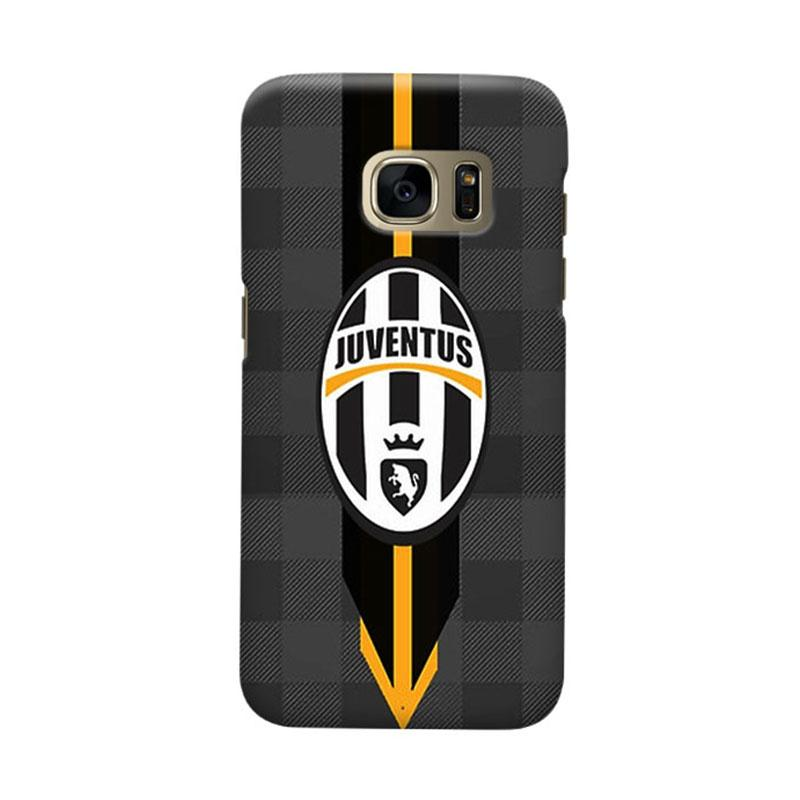 Indocustomcase Juventus FC JFC05 Casing for Samsung Galaxy S7 Edge