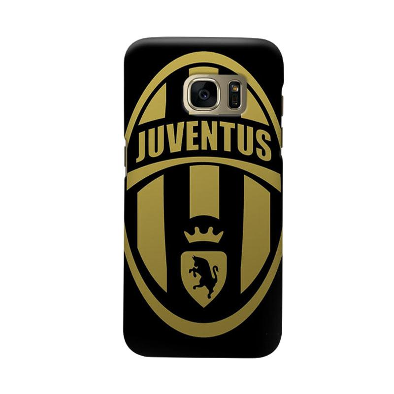 Indocustomcase Juventus FC JFC06 Cover Casing for Samsung Galaxy S6 Edge