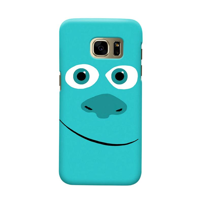 Indocustomcase Cartoon Monsters Cover Casing for Samsung Galaxy S6