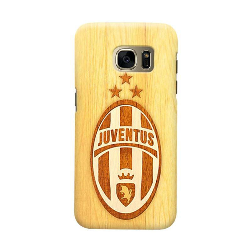 Indocustomcase Juventus FC JFC07 Cover Casing for Samsung Galaxy S6 Edge